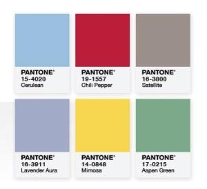 pantone block