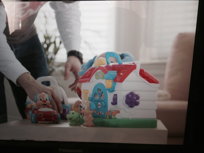 A screen grab from the monitor for Mattel toys.